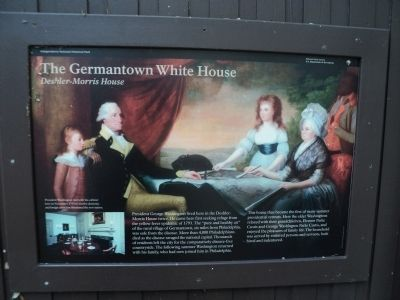 The Germantown White House Marker image. Click for full size.
