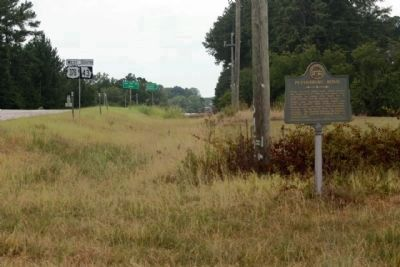 Petersburg Road Marker seen along Coach Jimmy Smith Highway (U.S. 378 / Georgia Route 43) image. Click for full size.
