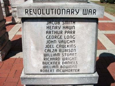 "Panel 'Two' - Revolutionary War Memorial ""One"" image. Click for full size."