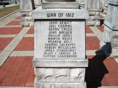 "Panel 'Two' - War of 1812 - Memorial ""Two"" image. Click for full size."