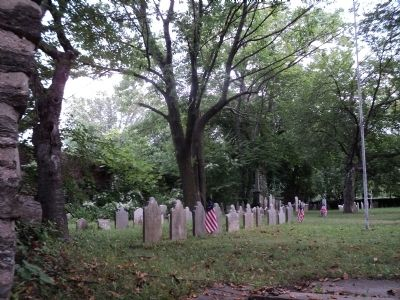 Soldiers Graves in the Upper Burying Ground image. Click for full size.