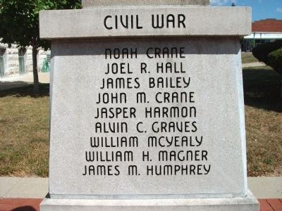 "Panel 'One' - Civil War - Memorial ""One"" image. Click for full size."