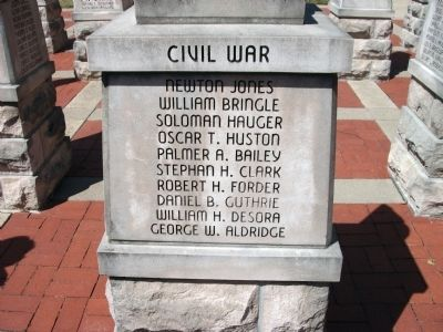 "Panel 'Four' - Civil War - Memorial ""Two"" image. Click for full size."