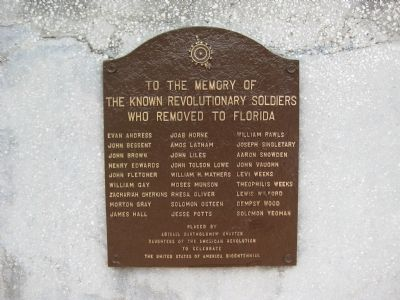 Revolutionary Soldiers Memorial Marker image. Click for full size.