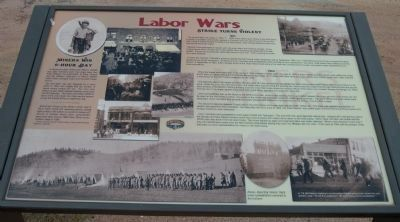 Labor Wars Marker image. Click for full size.