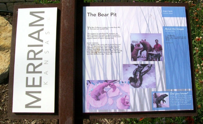 The Bear Pit Marker