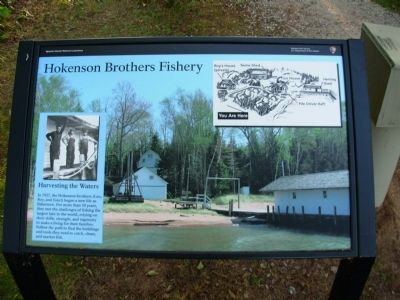 Hokenson Brothers Fishery Marker image. Click for full size.