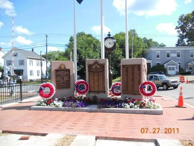 Pawling World War I and Civil War Memorial Marker image. Click for full size.