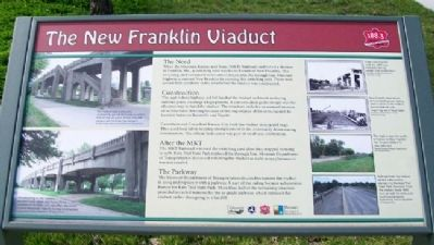 The New Franklin Viaduct Marker image. Click for full size.