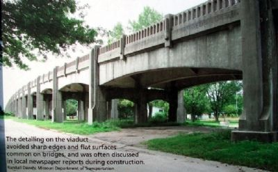 Photo on The New Franklin Viaduct Marker image. Click for full size.