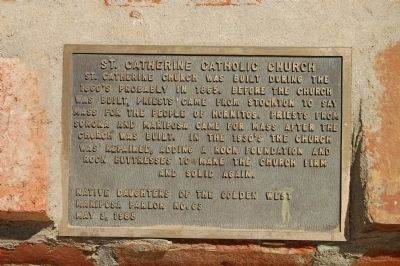 St Catherine Catholic Church Marker image. Click for full size.