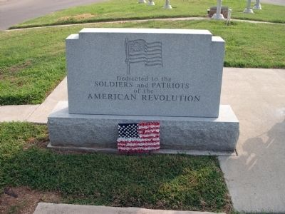 Floyd County American Revolution War Memorial Marker image. Click for full size.