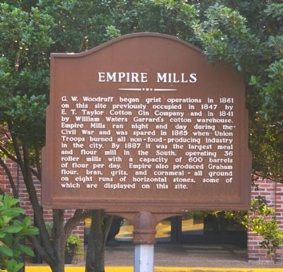 Empire Mills Marker image. Click for full size.