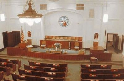 Providence Methodist Church, Interior-Chancel image. Click for full size.