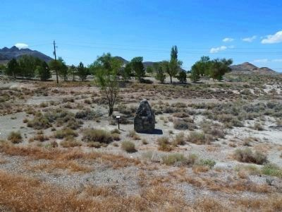 John G. Kirchen Marker From the West Shoulder of U.S. 95 image. Click for full size.