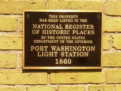 Port Washington Light Station Marker image. Click for full size.