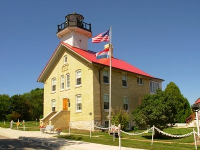 Port Washington Light Station image. Click for full size.
