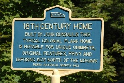 18th Century Home Marker image. Click for full size.