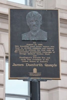 James Danforth Quayle Marker image. Click for full size.