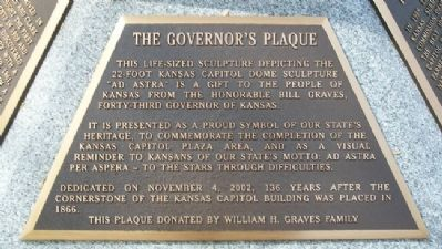 The Governor's Plaque Marker image. Click for full size.