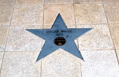 Oscar Wilde's Star image. Click for full size.