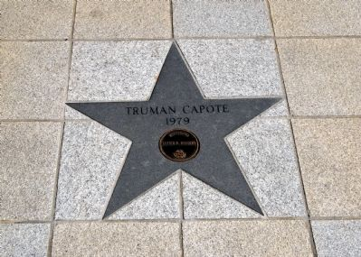 Truman Capote's Star image. Click for full size.