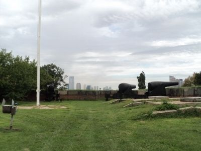 Cannon on Governors Island image. Click for full size.