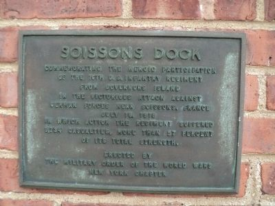 Soissons Dock Marker image. Click for full size.