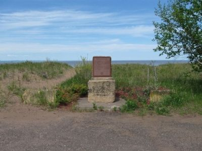 Lake Superior Marker image. Click for full size.