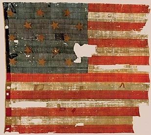 The Original Star-Spangled Banner image. Click for full size.