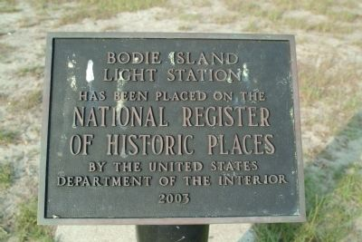 Bodie Island Light Station Marker image. Click for full size.