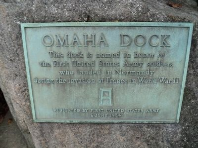 Omaha Dock Marker image. Click for full size.