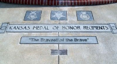 All Veterans Memorial Medal of Honor image. Click for full size.