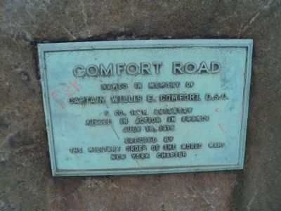 Comfort Road Marker image. Click for full size.