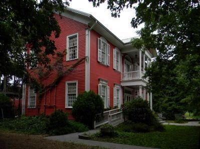 Alfred Moore Carter House (1819) image. Click for full size.