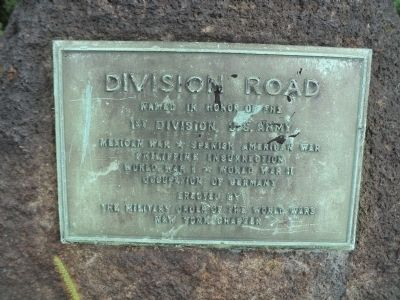 Division Road Marker image. Click for full size.