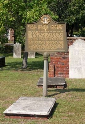 Hugh McCall gravesite image. Click for full size.