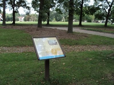 Colonels' Row Marker image. Click for full size.