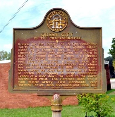 Queen City of the Chattahoochee Marker image. Click for full size.