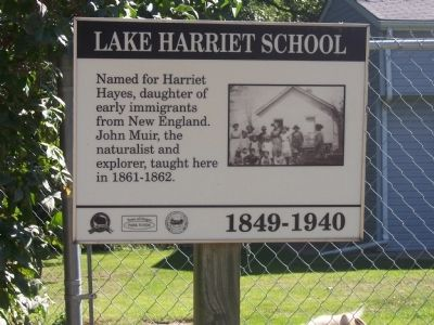 Lake Harriet School Marker image. Click for full size.