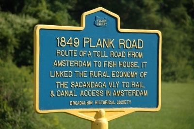 1849 Plank Road Marker image. Click for full size.