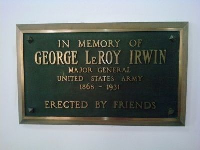 George LeRoy Irwin image. Click for full size.