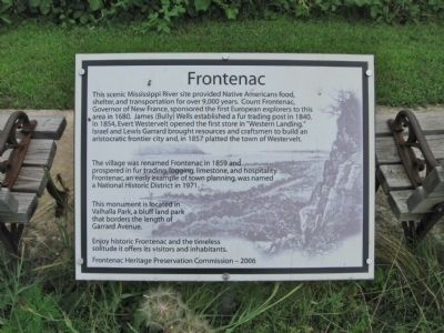 Frontenac Marker image. Click for full size.