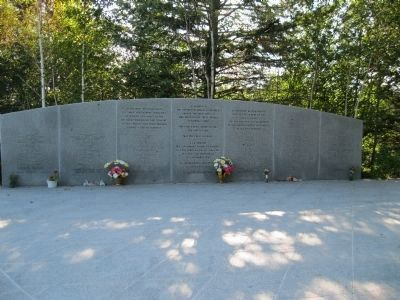 Swissair Flight 111 Memorial image, Touch for more information