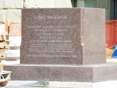 Chief Washakie image. Click for full size.