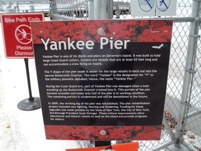 Yankee Pier Marker image. Click for full size.