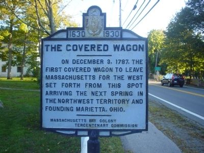 The Covered Wagon Marker image. Click for full size.