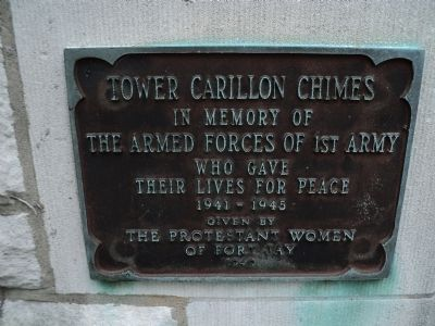 Tower Carillon Chimes Marker image. Click for full size.