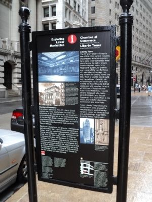 Chamber of Commerce / Liberty Tower Marker image. Click for full size.