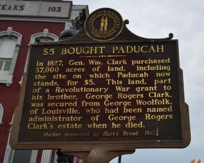 $5 Bought Paducah Marker image. Click for full size.